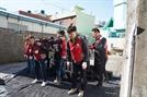 롯데건설, 부산 매축지 마을 주민에 연탄 기부