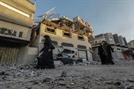 [사진] 이스라엘, 가자지구에 공습…하마스와 충돌 우려