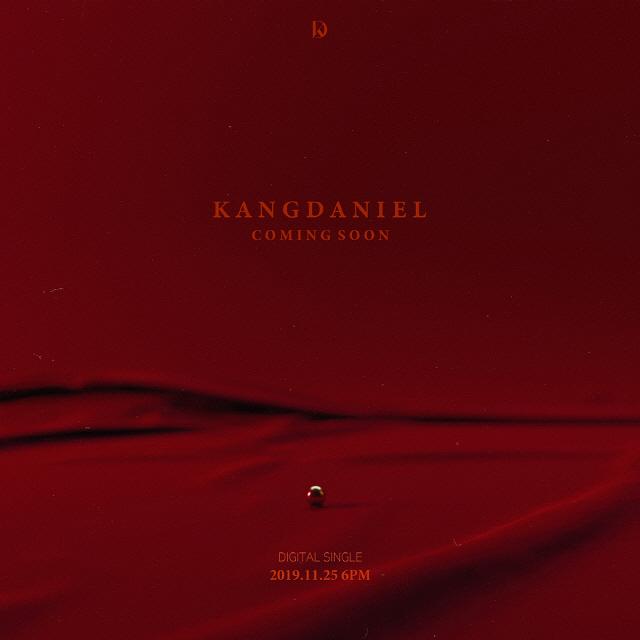 [공식] 강다니엘, 11월 25일 디지털 싱글로 컴백 확정..티저 이미지 공개