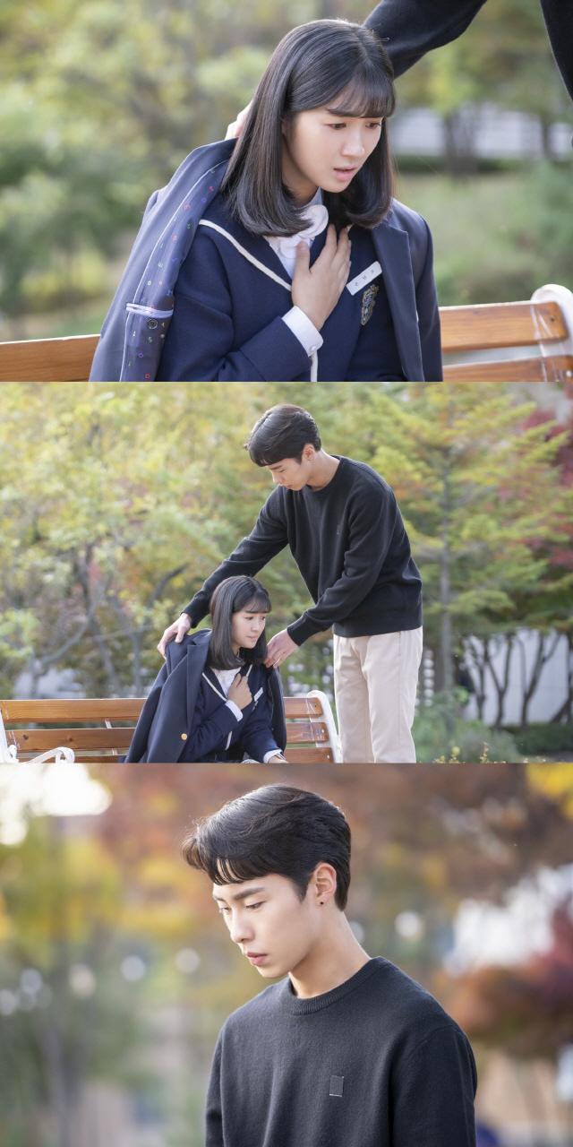 '어쩌다 발견한 하루' 이재욱, 김혜윤 향한 애절한 눈빛..엇갈린 삼각관계