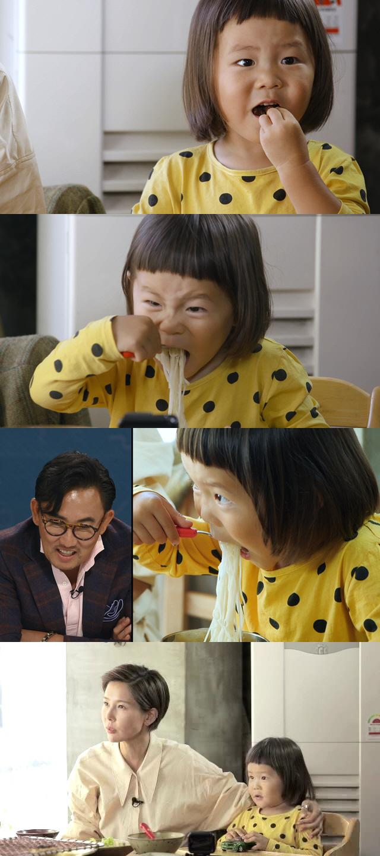 '편스토랑' 김나영 아들 신우, 김준현도 놀랄 수준급 면치기 '호로록'