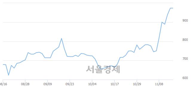 코코닉글로리, 장중 신고가 돌파.. 976→1,000(▲24)