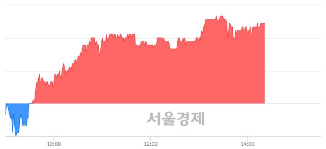 코힘스, 4.49% 오르며 체결강도 강세 지속(224%)
