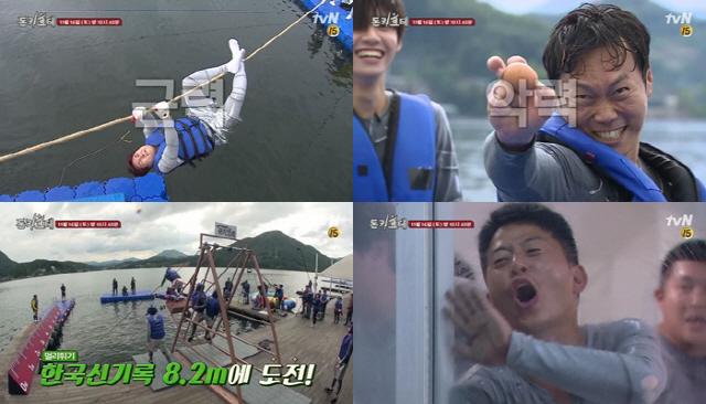 '돈키호테' 근력-악력-점프력-화력까지...기상천외한 '힘' 대결