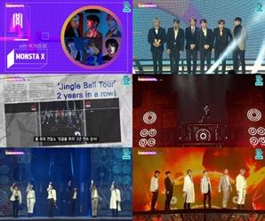 """몬스타엑스, '2019 브이라이브 어워즈' 2관왕...""""잊지 못할 추억 기쁘다"""""""