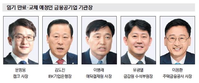 企銀행장-기재부·예탁원-금융위 출신 호시탐탐 '샅바싸움'