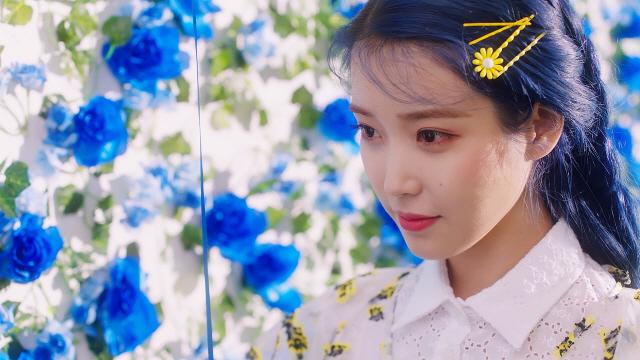 아이유, 타이틀곡 'Blueming' 티저공개... 미니 5집으로 컴백