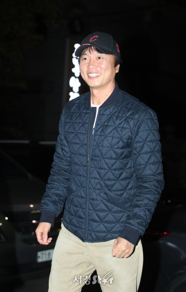 '동백꽃 필 무렵' 종방연 참석한 전배수
