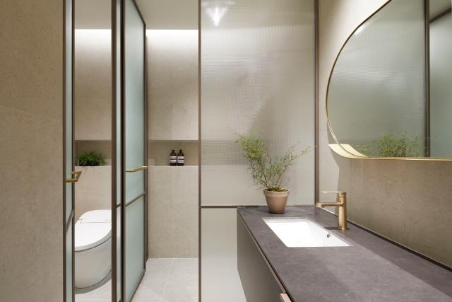 [아크로 갤러리 가보니] 프라이버시 보호에 포커스...드레스룸·욕실공간도 분리