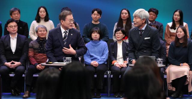 '국민이 묻는다' 문 대통령, '검찰개혁은 글로벌 스탠다드 맞추는 것'