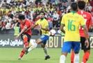 한국 축구브라질에 0-3 완패