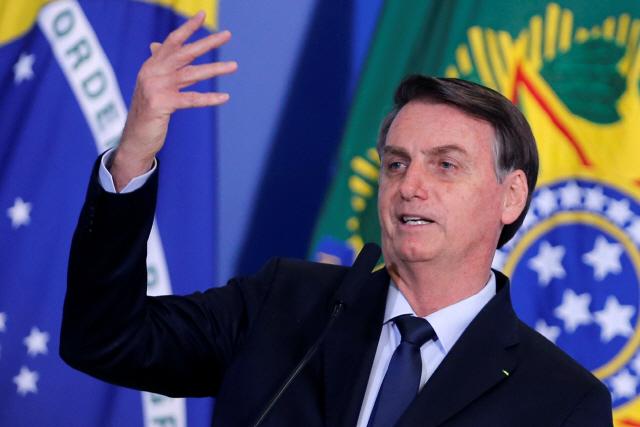"""보우소나루 """"브라질 새 정당의 대통령 될 것""""…창당 공식 발표"""