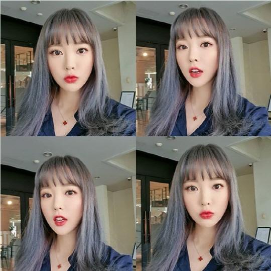 홍진영 '확' 달라진 헤어스타일? 아니 섹시스타일!