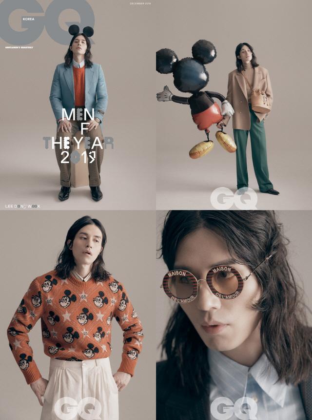 배우 이동욱, 2년 연속 GQ가 선정한 올해의 남자..'콘셉트 장인X화보 장인'