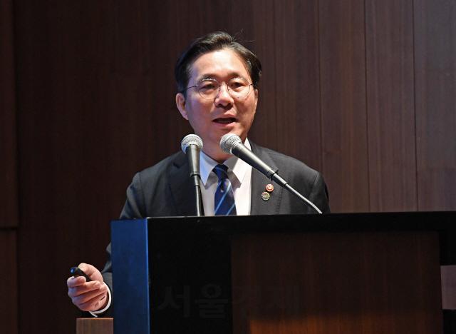 성윤모  '수소 경제 퍼스트무버로… 대규모 R&D투자 나설 것'