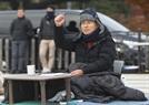 """'단식' 황교안, 대국민 호소…""""文, 한미동맹 흔들지마라"""""""