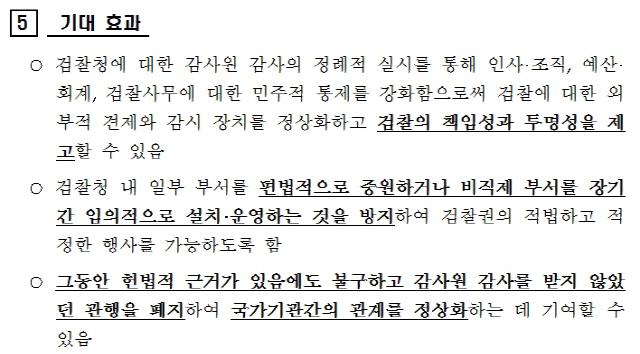 [서초동 야단법석]'검찰은 앞으로 감사원 감사 정기적으로 받아라'... 법무부의 자충수?