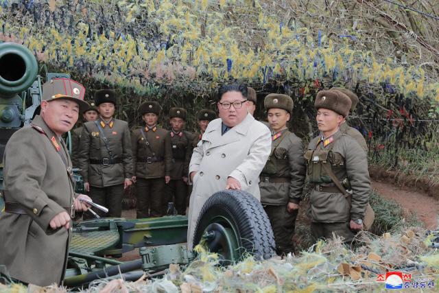 김정은 해안포 사격 지시에 국방부 '9.19 군사합의 위반'