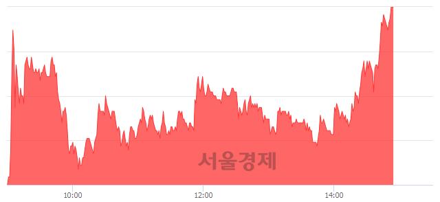 코SK바이오랜드, 상한가 진입.. +29.97% ↑