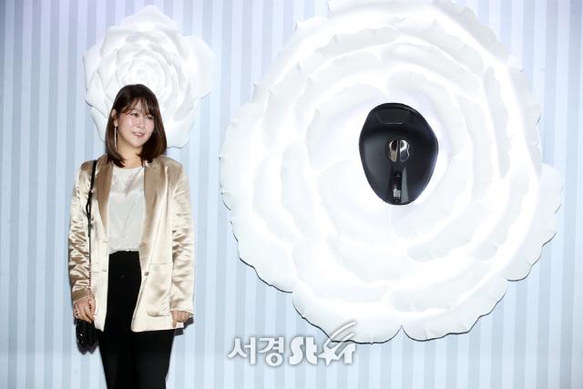 김지영, 단아한 미모