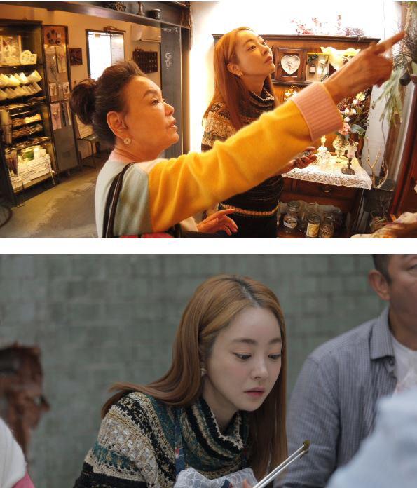 '식탁의 기사' 김수미, 예비며느리 서효림와의 다정한 모습 공개