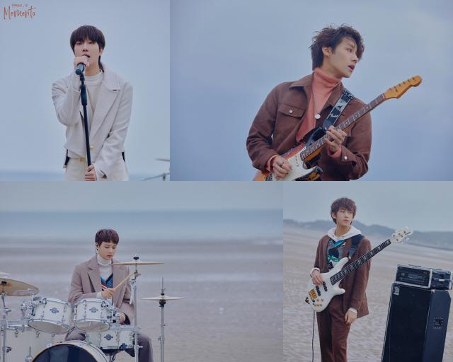 밴드 아이즈, 올해 세 번째 신곡 공개..겨울 감성 녹인 '메멘토(Memento)'