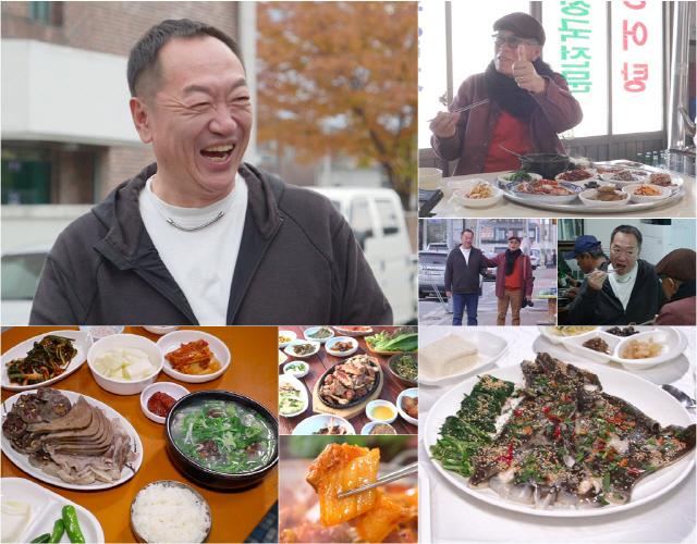 '백반기행' 배우 박상면, 구례 푸짐한 밥상...동네 친구같은 매력