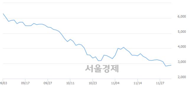 유카리스국보, 4.01% 오르며 체결강도 강세로 반전(190%)
