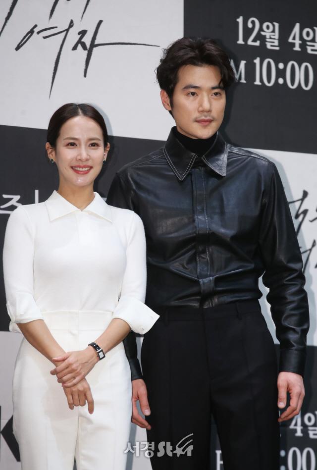 조여정-김강우, 빛나는 아우라 (99억의 여자 제작발표회)