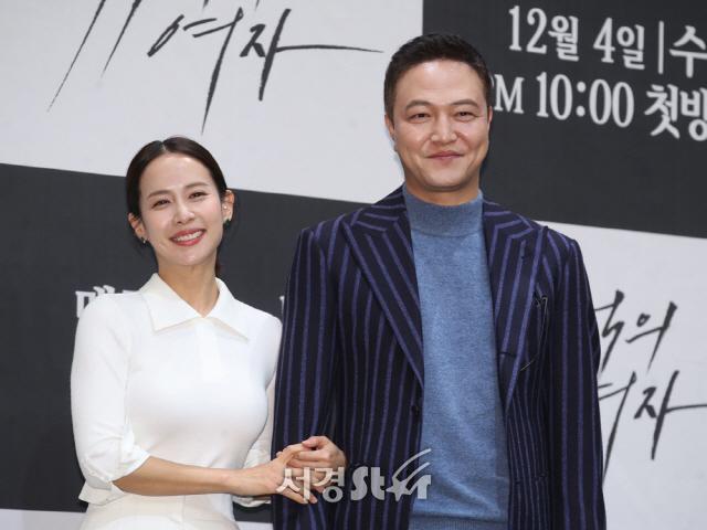 조여정-정웅인, 다정한 모습 (99억의 여자 제작발표회)