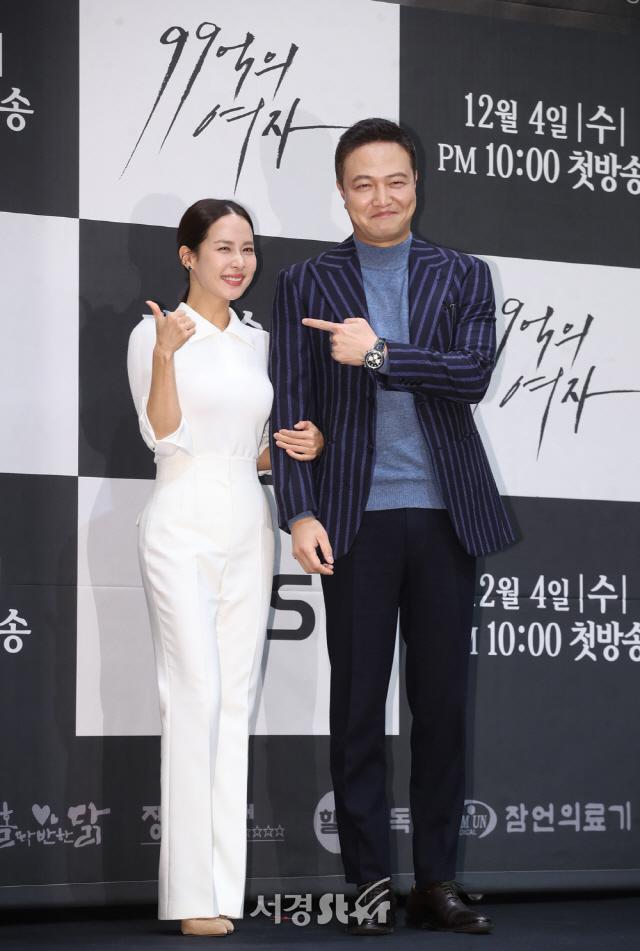 조여정 띄우기 나선 정웅인 (99억의 여자 제작발표회)
