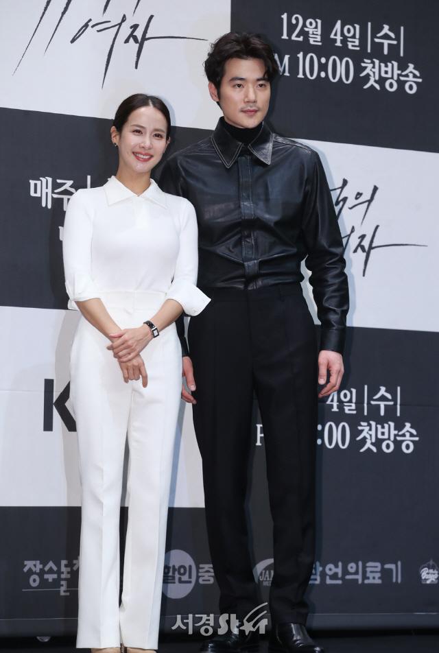 조여정-김강우, 환상의 커플 (99억의 여자 제작발표회)