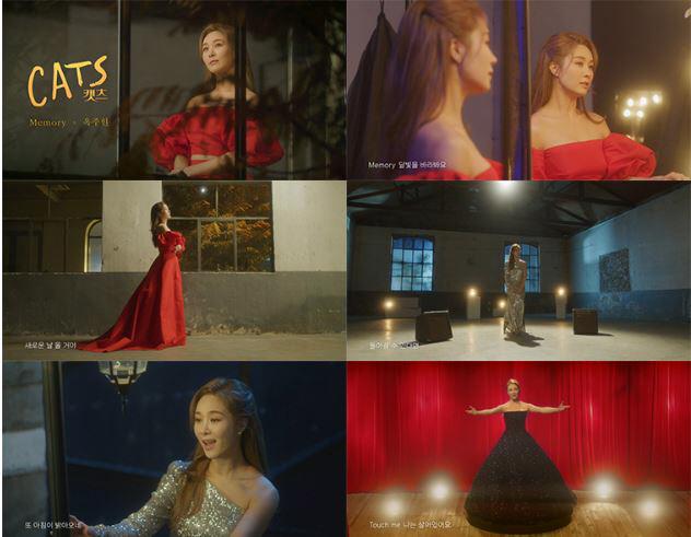 '캣츠' 옥주현, 대망의 'Memory' 뮤직 영상 최초 공개..뜨거운 반응 화제