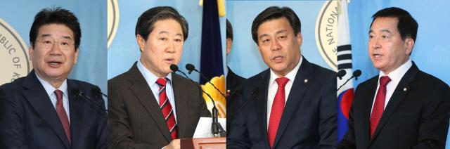 포스트 나경원 누구? 한국당 원내대표 경선…'바쁘다 바빠'