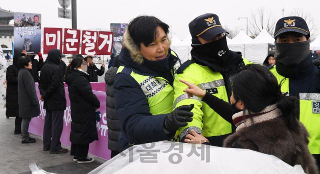 [경찰팀24/7] 집회안전 사수한다, 말로 뛰는 '修辭반장' 대화경찰관