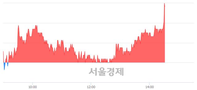 유이월드, 3.13% 오르며 체결강도 강세로 반전(104%)