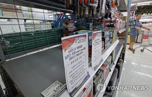 'NO 재팬' 6개월… 일본 수출 손해 한국의 두 배