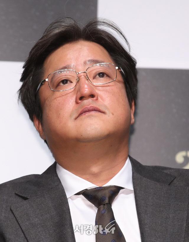 곽도원, 고심! (남산의 부장들 제작보고회)