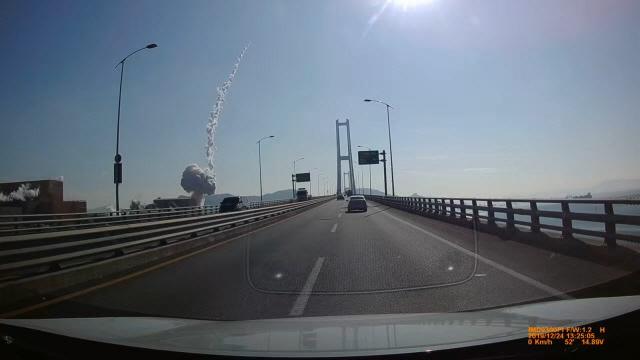 [제보영상] 포스코 광양제철소 폭발 순간