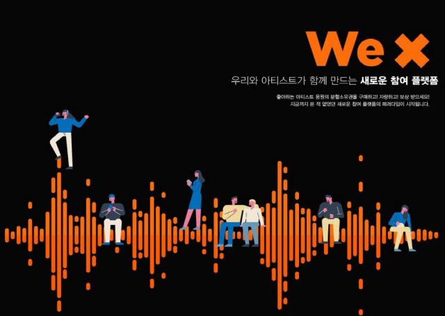 [시그널] 음악도 '덕투' 시대… 저작인접권 판매 플랫폼 'WeX' 론칭