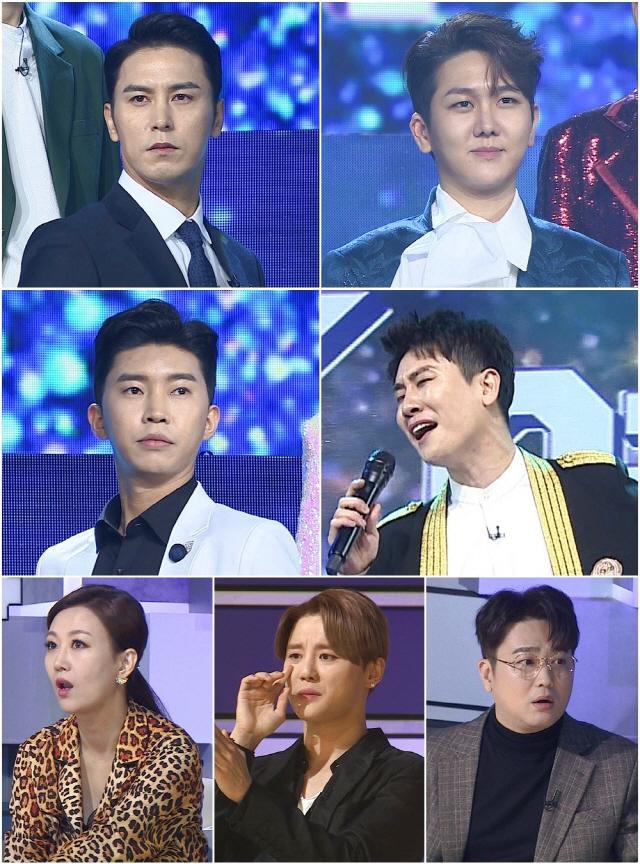 '미스터트롯' 장윤정·김준수·박현빈, 현역 트로트 가수들의 등장에 충격