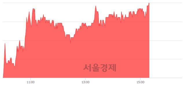 코노터스, 전일 대비 7.06% 상승.. 일일회전율은 6.91% 기록