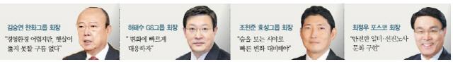 달라진 시무식…'일방통행 회장 훈시' 대신 영상·이메일로 적극 소통