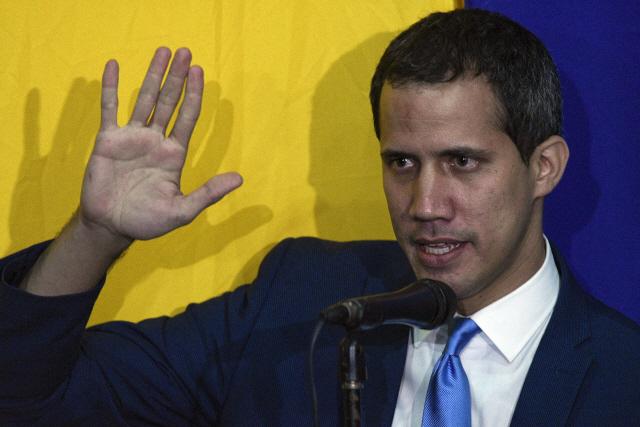 美·EU·미주기구 '베네수엘라 국회의장은 변함없이 과이도'