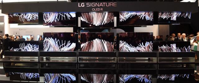 [CES 2020]LG전자 '롤러블 TV' 시선 집중