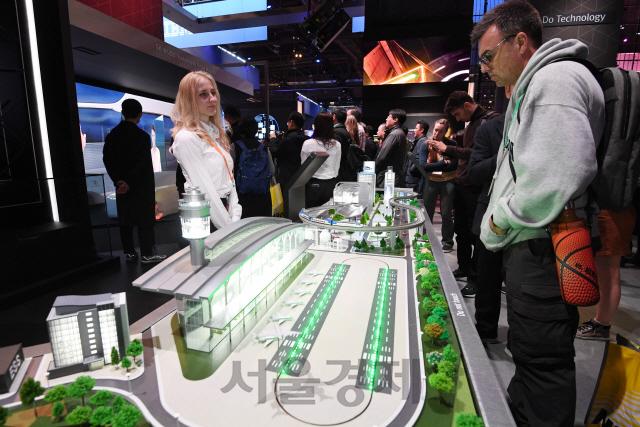 SK가 꿈꾸는 미래도시[CES 2020]
