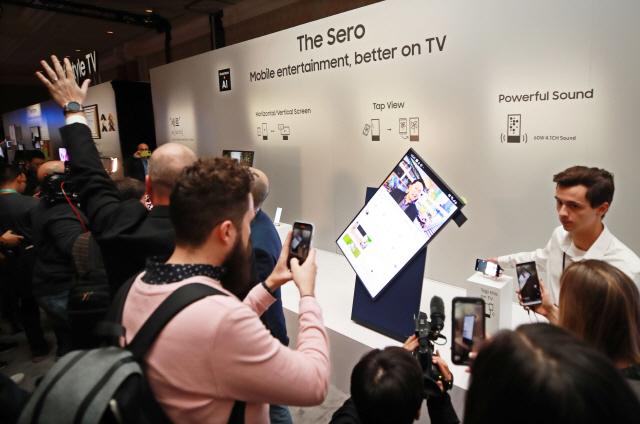 중국판 '더 세로' TV? 올해도 등장한 '짝퉁 가전' [CES 2020]