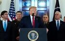 """""""무력 대신 살인적 경제제재""""…트럼프, 이란 보복 수위조절"""