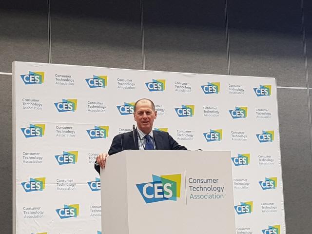 """[CES 2020]게리 샤피로 CTA 회장 """"삼성 기조연설 인상적…한국 스타트업 참가 늘었다"""""""