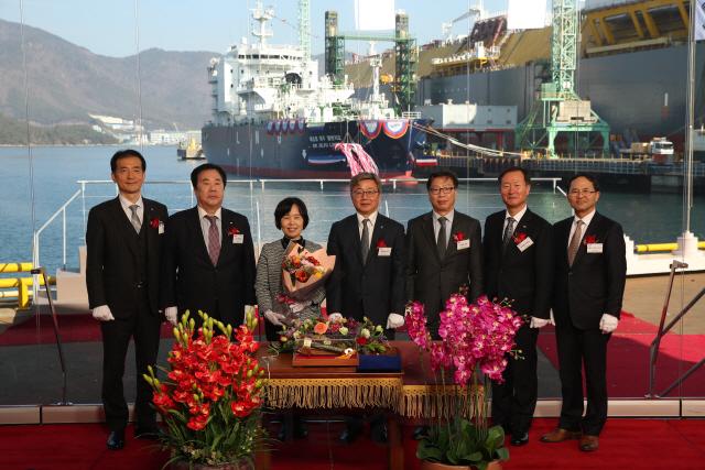 대한해운, 아시아 첫 LNG 벙커링선 국내운항 시작